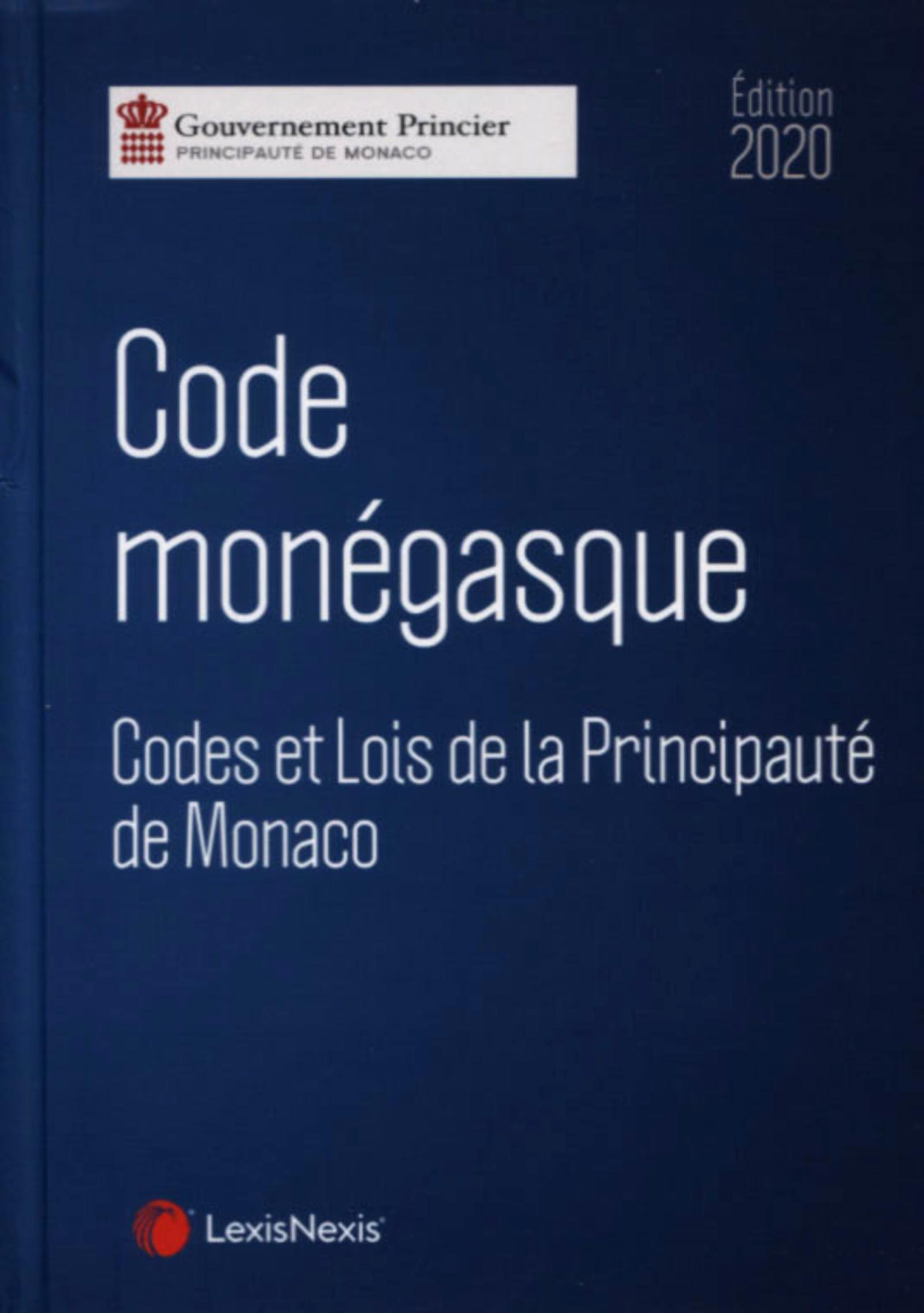 CODE MONEGASQUE 2020