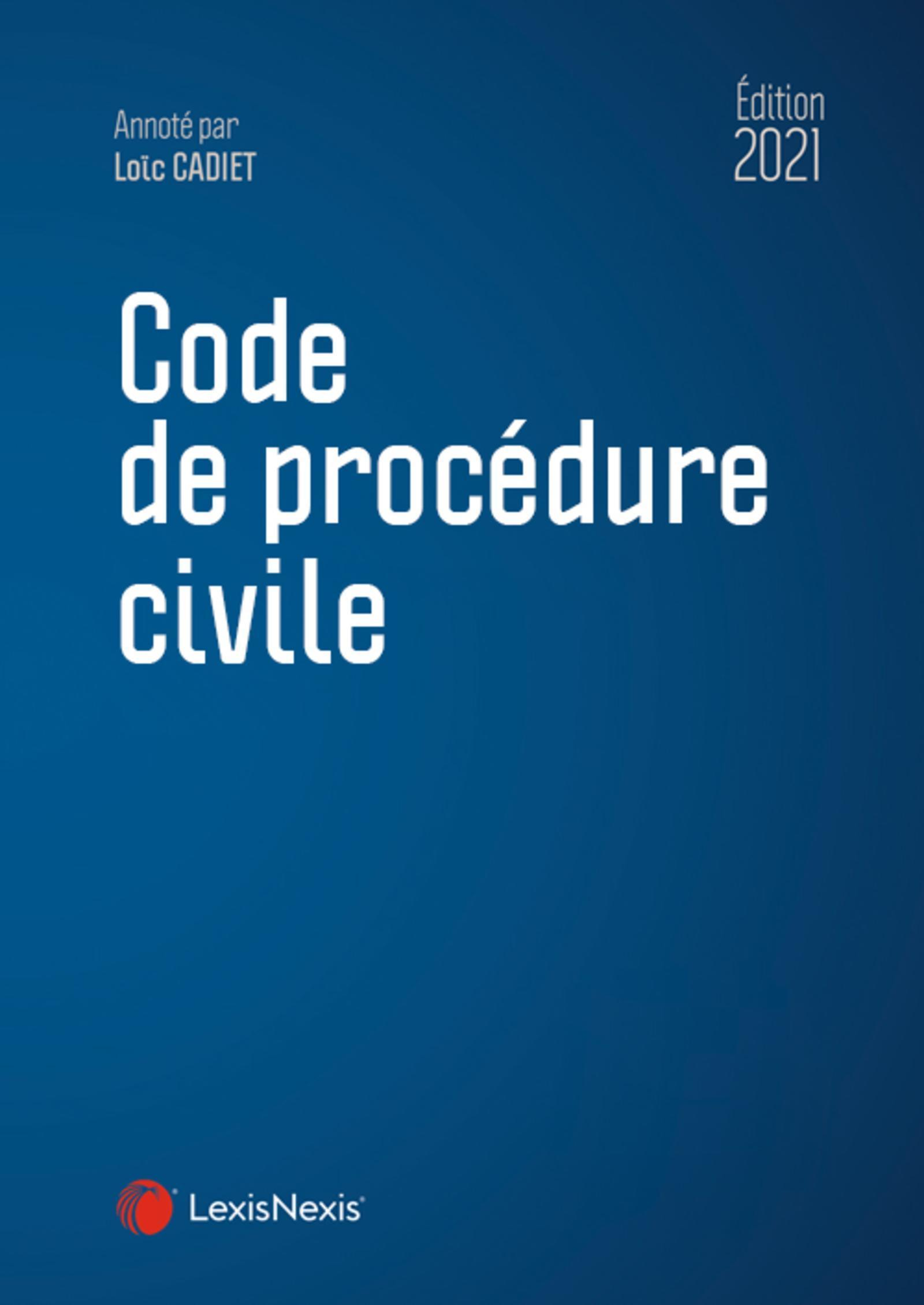 CODE DE PROCEDURE CIVILE 2021