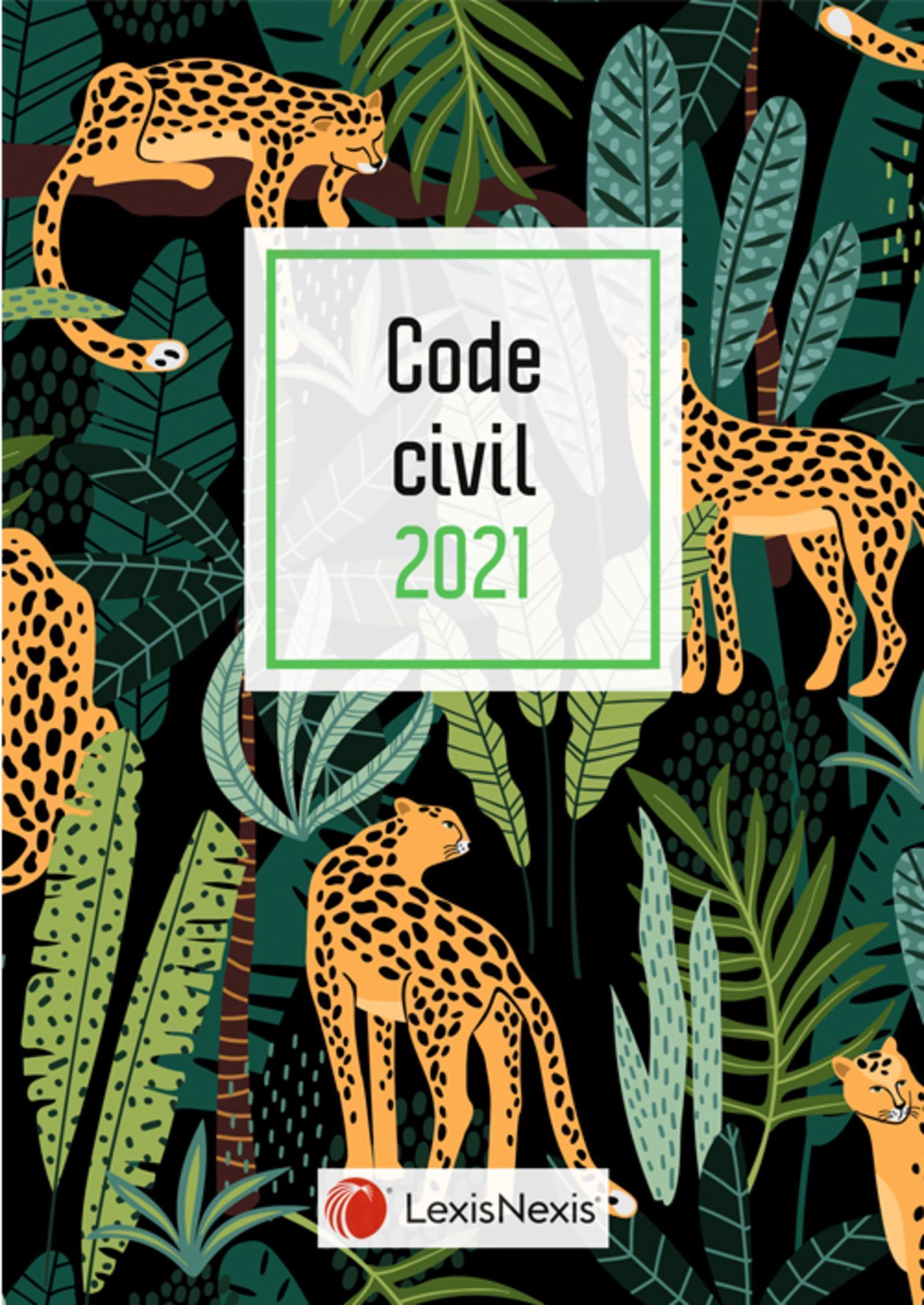 CODE CIVIL 2021 - JAQUETTE 4