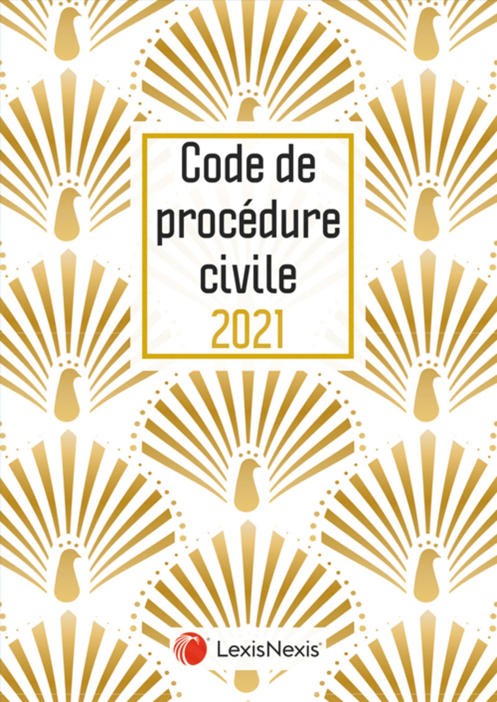 CODE DE PROCEDURE CIVILE 2021- JAQUETTE