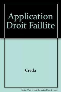 APPLICATION DROIT FAILLITE