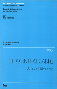 CREDA CONTRAT-CADRE TOME II