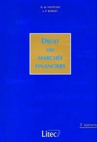 DROIT DES MARCHES FINANCIERS
