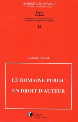 LE DOMAINE PUBLIC EN DROIT D'AUTEUR