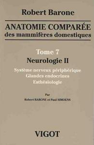 ANAT COMPAREE T7 NEUROLOGIE II