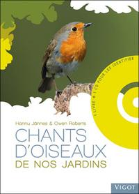 CHANTS D OISEAUX DE NOS JARDINS AVEC CD