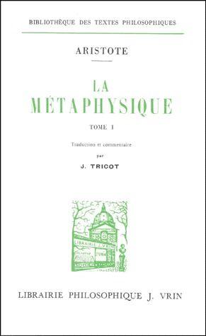 LA METAPHYSIQUE  (2 VOL)