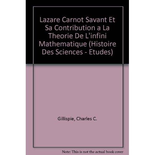 LAZARE CARNOT SAVANT