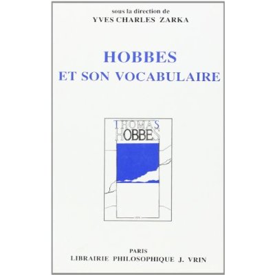 HOBBES ET SON VOCABULAIRE