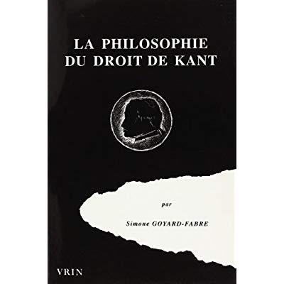 LA PHILOSOPHIE DU DROIT DE KANT