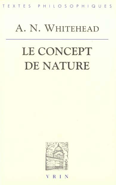 LE CONCEPT DE NATURE