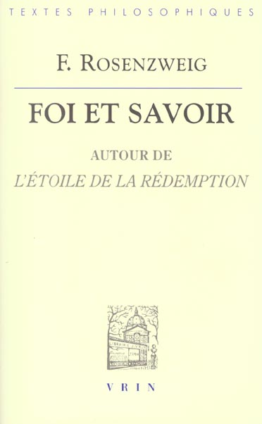 FOI ET SAVOIR AUTOUR DE  L'ETOILE DE LA REDEMPTION