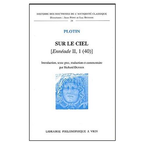 SUR LE CIEL [ENNEADE II, 1 (40)]