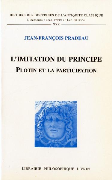 L'IMITATION DU PRINCIPE PLOTIN ET LA PARTICIPATION