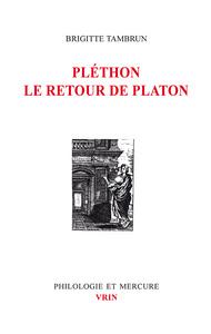 PLETHON LE RETOUR DE PLATON