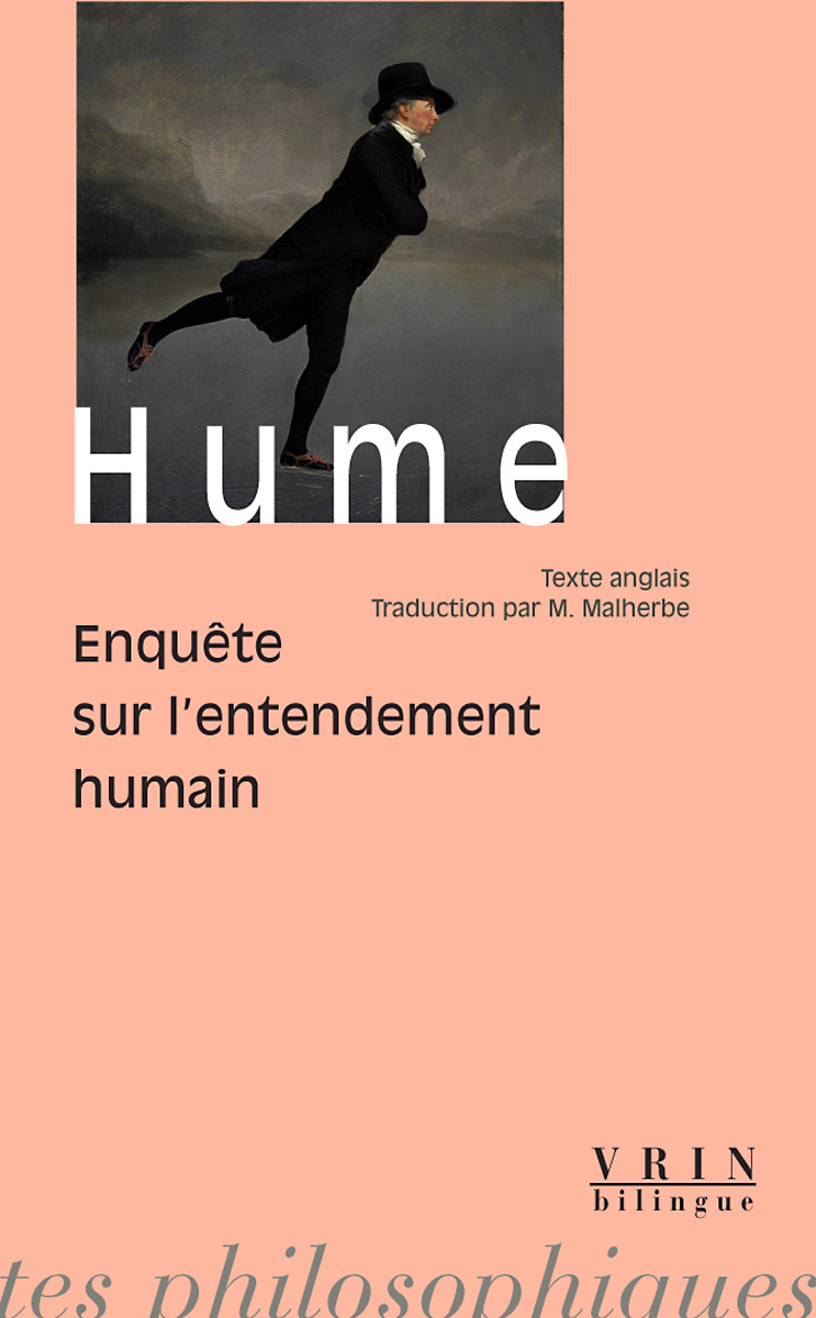 ENQUETE SUR L ENTENDEMENT HUMAIN EDITION BILINGUE