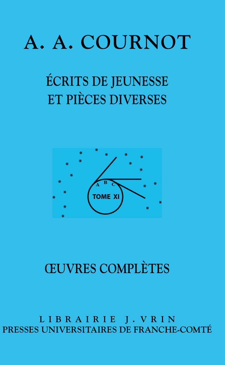 OEUVRES COMPLETES T XI (2 VOL)
