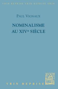 NOMINALISME AU XIVE SIECLE