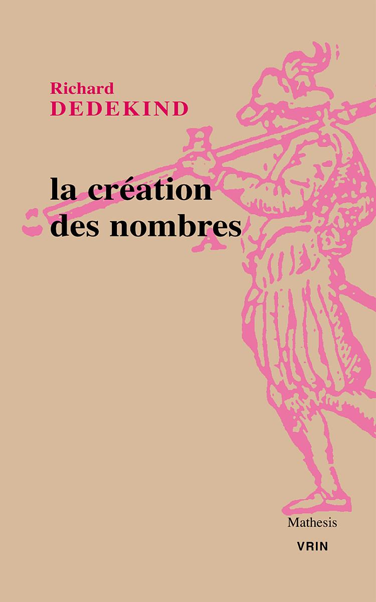 LA CREATION DES NOMBRES