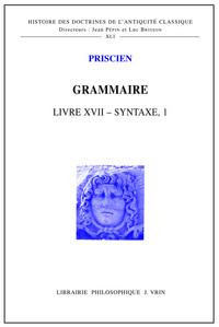 GRAMMAIRE LIVRE XVII - SYNTAXE I