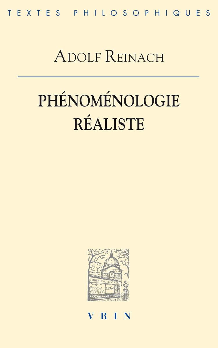 PHENOMENOLOGIE REALISTE