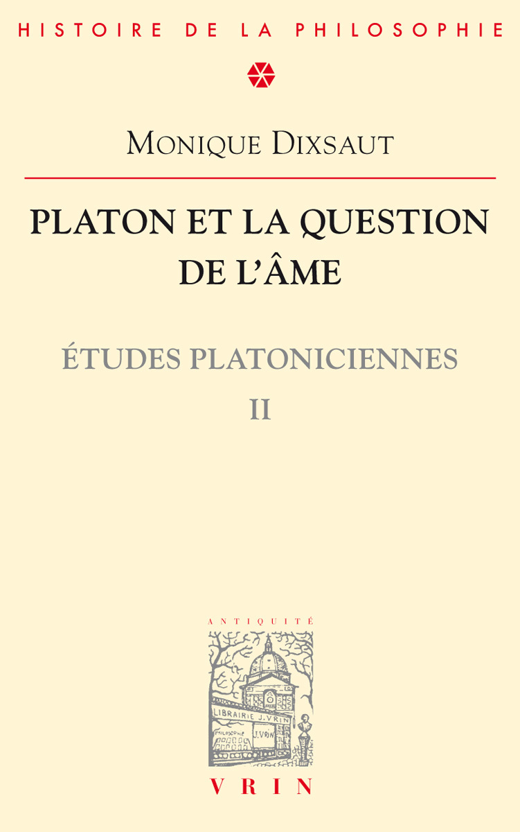 PLATON ET LA QUESTION DE L AME