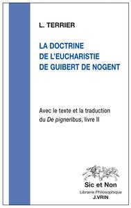 LA DOCTRINE DE L EUCHARISTIE DE GUIBERT DE NOGENT