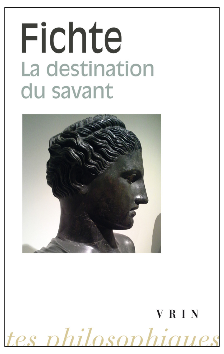 DESTINATION DU SAVANT
