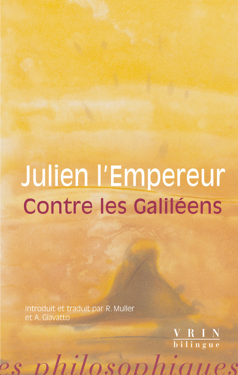 CONTRE LES GALILEENS