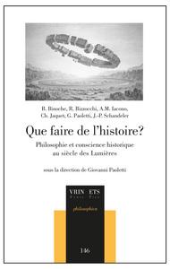 QUE FAIRE DE L HISTOIRE?