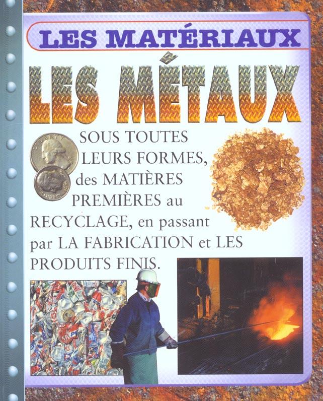 LES METAUX
