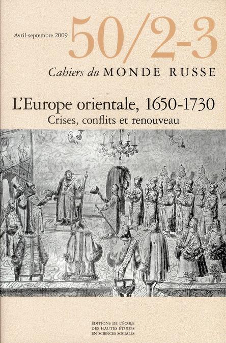 CAHIERS DU MONDE RUSSE 50/2 3