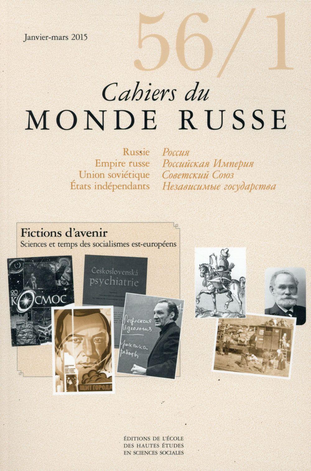 CAHIERS DU MONDE RUSSE 56 1