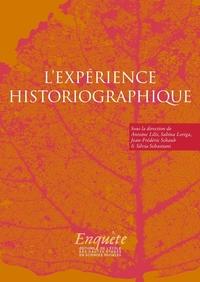 EXPERIENCE HISTORIOGRAPHIQUE - AUTOUR DE JACQUES REVEL