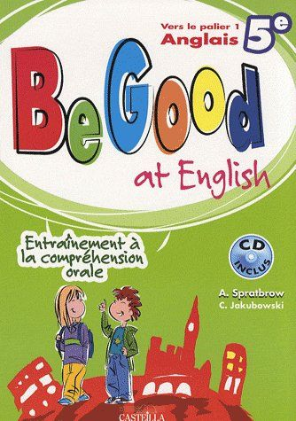 5E BE GOOD AT ENGLISH - CD INCLUS
