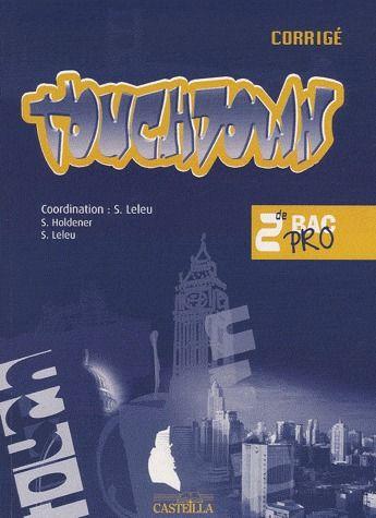 TOUCHDOWN 2E - CORRIGES