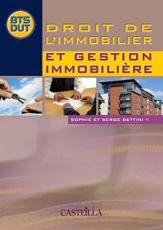 DROIT DE L'IMMOBILIER ET GESTION IMMOBILIERE