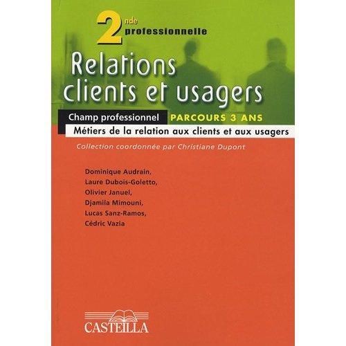 RELATION CLIENTS ET USAGERS 2E