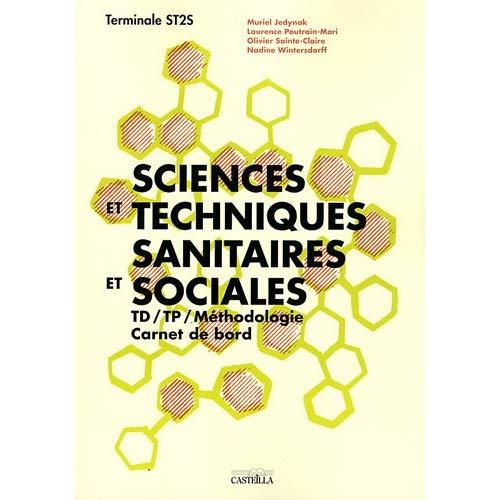 SCIENCES ET TECHNIQUES SANITAIRES ET SOCIALES TERMINALE