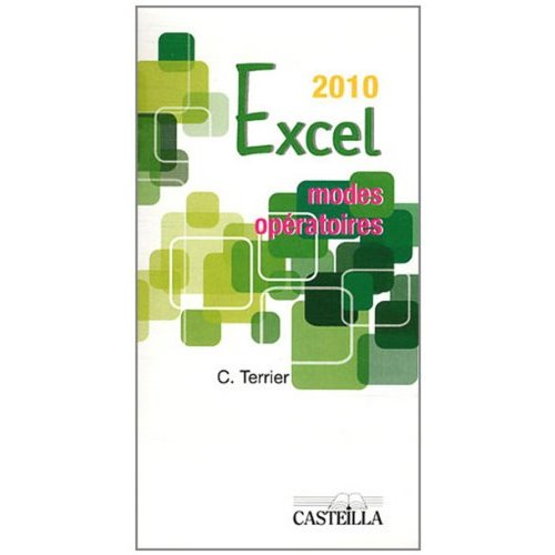 MODES OPERATOIRES EXCEL OFFICE 2010