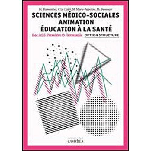 SCIENCES MEDICO SOCIALES 1E ELEVE