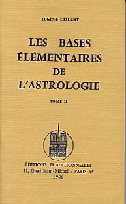 BASES ELEMENTAIRES DE L'ASTROLOGIE TOME II (LES)