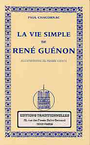 VIE SIMPLE DE RENE GUENON (LA)