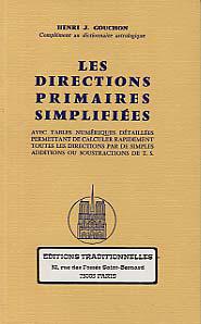 DIRECTIONS PRIMAIRES SIMPLIFIEES (LES)- TEXTES ET TABLES