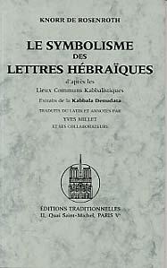 SYMBOLISME DES LETTRES HEBRAIQUES (LE)