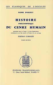 HISTOIRE PHILOSOPHIQUE DU GENRE HUMAIN : TOME I ET TOME II