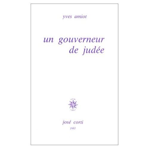 UN GOUVERNEUR DE JUDEE