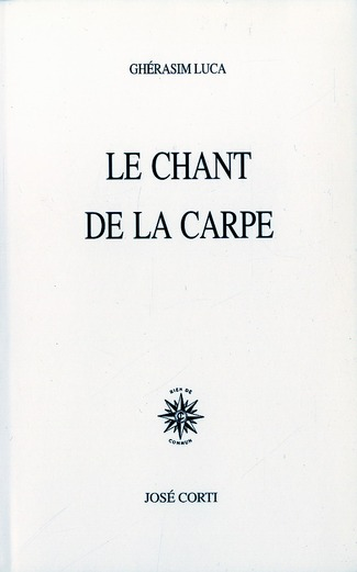 LE CHANT DE LA CARPE