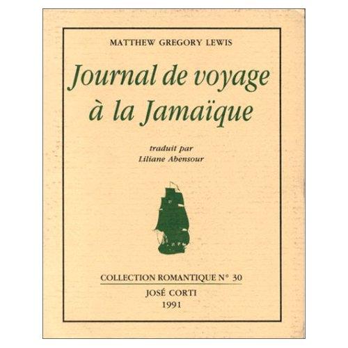JOURNAL DE VOYAGE A LA JAMAIQUE