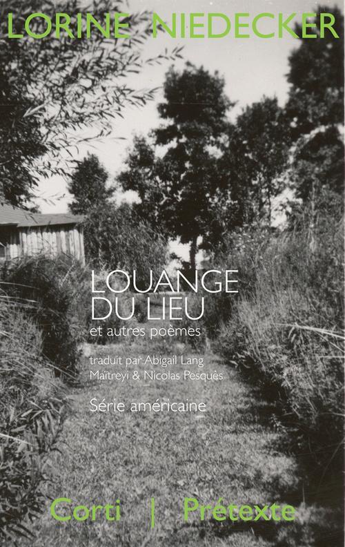 Louange du lieu et autres poemes, 1949-1970